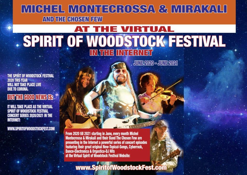 Virtual Spirit of Woodstock Festival - Season 2020/2021